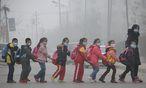 Smog ist dieser Tage nicht nur in China ein großes Problem. / Bild: (c) APA/AFP/STR
