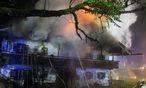 Der Brandort in Schneizelreuth / Bild: APA/EPA/FERDINAND FARTHOFER