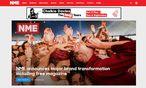 ''NME'' gab die Änderung auf der Website bekannt / Bild: (c) Screenshot: DiePresse.com