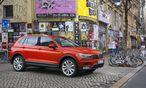 """Kein bloßes Dickerchen mehr, sondern ein """"richtiges SUV"""", so VW: Der neue Tiguan ist deutlich größer als sein Vorgänger. / Bild: (c) Werk"""