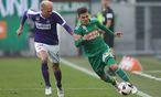 Die Austria hatte Rapid im Weststadion ganz gut im Griff. / Bild: GEPA pictures