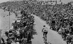 Charly Gaul, Luxemburgs Sportler des Jahrhunderts, gewann 1958 die erste Zielankunft auf dem Mont Ventoux. / Bild: (C) Archiv