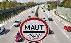 Autobahn und Maut Schild Symbolfoto PKW Maut / Bild: imago/Christian Ohde