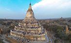 Der Tempel von Bagan ist die bedeutendste Touristenattraktion des Landes. / Bild: REUTERS