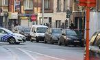 Die Polizei sperrte das Gebiet rund um das Haus in Gent ab. / Bild: (c) imago/Belga