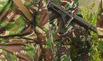 Archivbild. Ein Hubschrauber des indonesischen Militärs stürzte auf Borneo ab. / Bild: (c) imago/ZUMA Press (imago stock&people)