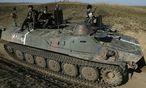 Ukrainische Armee im Osten des Landes / Bild: REUTERS
