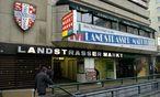 Archivbild: Der Eingang zum Landstraßer Markt vor dem Umbau des Bahnhofs, aufgenommen im Jahr 2008. Eine Wiedereröffnung wird es nicht geben. / Bild: (c) Clemens Fabry