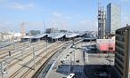 Das Areal um den Wiener Hauptbahnhof. / Bild: Clemens Fabry