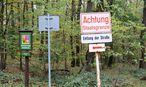 Staatsgrenze im Waldviertel / Bild: Clemens Fabry / Die Presse