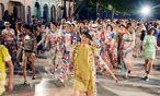 Cuba libre. Die jüngste Métiers-d'art-Kollektion von Chanel nahm Kurs auf Havanna. / Bild: (c) Olivier Saillant