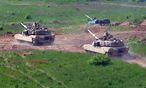 Symbolbild einer Militärübung in Polen / Bild: APA/EPA/MARCIN BIELECKI