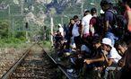 Nahe der Grenze zu Griechenland / Bild: (c) REUTERS (OGNEN TEOFILOVSKI)