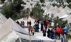 Flüchtlingslager in der Türkei / Bild: REUTERS