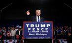 Das Verkaufen als Lebenszweck: Donald Trump verhält sich als Politiker ebenso wie einst als Casinobesitzer.  / Bild: REUTERS