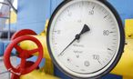 File photo of a pressure gauge at an underground gas storage facility in the village of Mryn / Bild: REUTERS