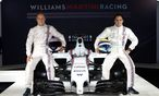 WILLIAMS MARTINI RACING holt die beruehmten Streifen zurueck / Bild: WILLIAMS MARTINI RACING