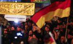 Pegida-Demo / Bild: REUTERS