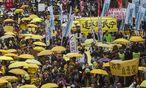 Protestzug in Hongkong / Bild: (c) APA/EPA (ALEX HOFFORD)