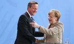 Cameron, Merkel / Bild: APA/EPA/WOLFGANGKUMM