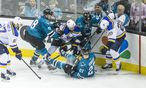 NHL: Stanley Cup Playoffs-St. Louis Blues at San Jose Sharks / Bild: (c) USA Today Sports (John Hefti)