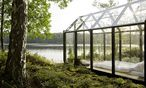 Die finnische Firma Kekkilä setzt auf einen Formmix aus Gewächshaus und Gartenlaube. / Bild: (c) Kekkilä