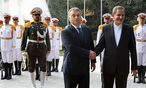 Orban im Iran / Bild: APA/AFP/IRANIAN PRESIDENCY/HO