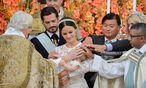 Taufe in Schloss Drottningholm  / Bild: Reuters