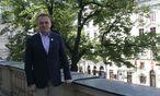 Die Einheit des Landes sei ihm wichtig, sagt Bürgermeister Andrij Sadowyj. / Bild: Jutta Sommerbauer