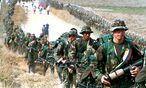 FARC-Rebellen im Jahr 1999. / Bild: REUTERS