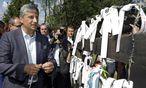 """Michael Spindelegger reiste am Donnerstag ins Burgenland, um dem """"Paneuropäischen Picknick"""" zu gedenken.  Dabei hatte er mit interner Kritik zu kämpfen. / Bild: (c) APA/GEORG HOCHMUTH (GEORG HOCHMUTH)"""