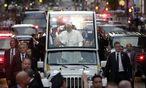 Papst Franziskus in der Fifth Avenue in New York / Bild: Reuters