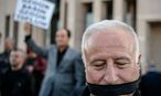 Proteste gegen den Journalistenprozess / Bild: APA/AFP/OZAN KOSE