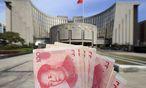 Chinesische Zentralbank / Bild: EPA