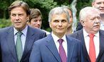 Aufnahme von 2010: Voves, Faymann und Häupl  / Bild: APA/ROLAND SCHLAGER