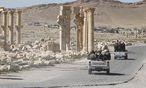 Syrische Regierungssoldaten im April in Palmyra / Bild: REUTERS