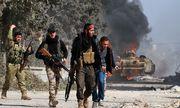 Rebellen in Al-Bab. / Bild: APA/AFP/MAAN AL-SHANAN