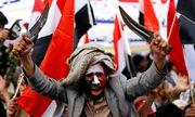 Protest gegen Saudiarabien. Anhänger der Houthis und des Ex-Präsidenten Saleh gehen auf die Straße. / Bild: (c) REUTERS (KHALED ABDULLAH)