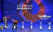 """""""Celebrate Diversity"""": So lautet der Slogan des diesjährigen Eurovision Song Contest in der Ukraine. / Bild: (c) APA/AFP/SERGEI SUPINSKY"""