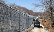 An der bulgarisch-türkischen Grenze. / Bild: (c) AFP