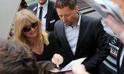 Goldie Hawn vor dem Grand Hotel / Bild: imago/SKATA