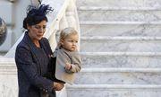 Caroline von Monaco mit ihrem Enkelsohn SaCaroline von Monaco mit ihrem Enkelsohn Sacha  cha   / Bild: Reuters