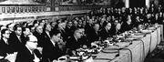 Der Anfang der EU: Am 25. März 1957 wurden die Verträge zur Gründung der Europäischen Wirtschaftsgemeinschaft unterzeichnet.  / Bild: (c) AP