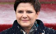 Polens Premier Beata Szydło setzt im Rat auf Rückendeckung durch Ungarn. / Bild: (c) APA/AFP/JANEK SKARZYNSKI