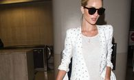 Rosie Huntington Whiteley bei der Ankuft am Lax Airport am 10 06 2015 in Los Angeles Rosie Huntingto / Bild: (c) imago/APress (imago stock&people)
