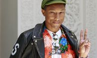 Singer Pharrell Williams poses during a photocall at the 14th Mawazine World Rhythms International Music Festival in Rabat / Bild: (c) REUTERS (YOUSSEF BOUDLAL)