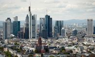 Skyline in Frankfurt / Bild: (c) APA/AFP/ODD ANDERSEN (ODD ANDERSEN)