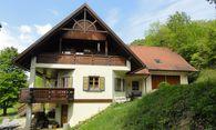 Landsitz in Schwarzautal bei Leibnitz: luxuriöses Einfamilienhaus in Jagerberg mit großem Wald.  / Bild: Remax Radkersburg