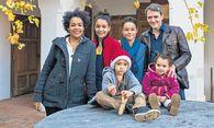 Viel Platz für eine große Familie: die Spörks im Arkadenhof. / Bild: (c) Fernanda Nigro