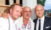 Hubert Wallner, Otto Retzer, Thomas Hopfgartner (v.l.). / Bild: Foto: Hannes Krainz